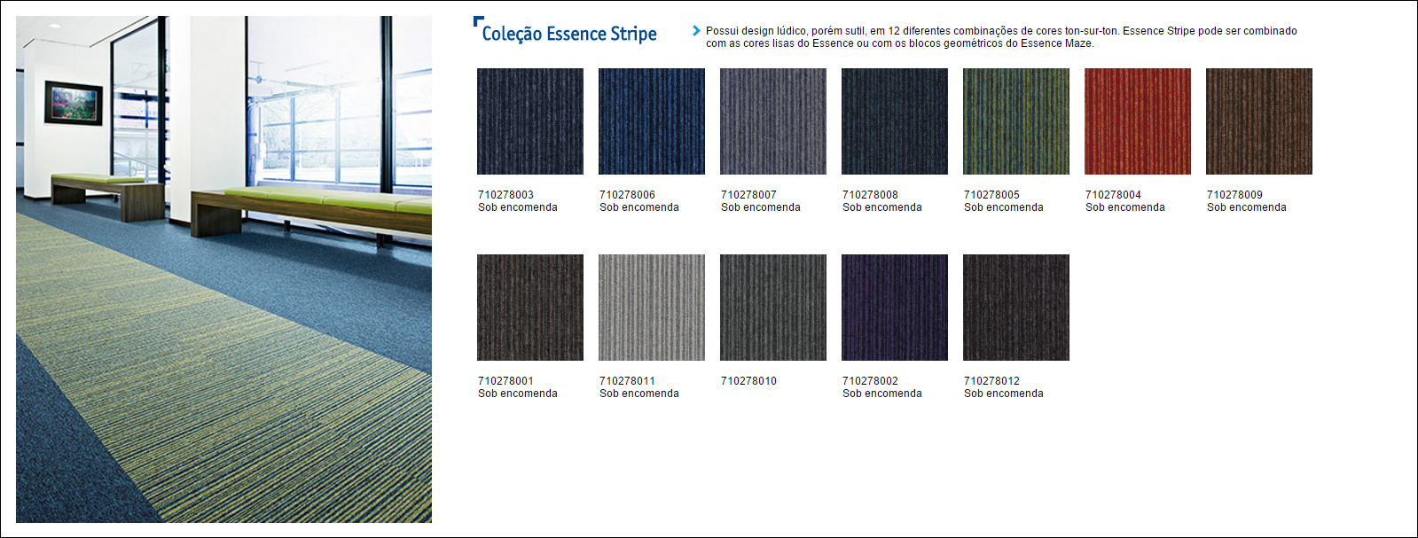 Tarkett Desso Essence Stripes