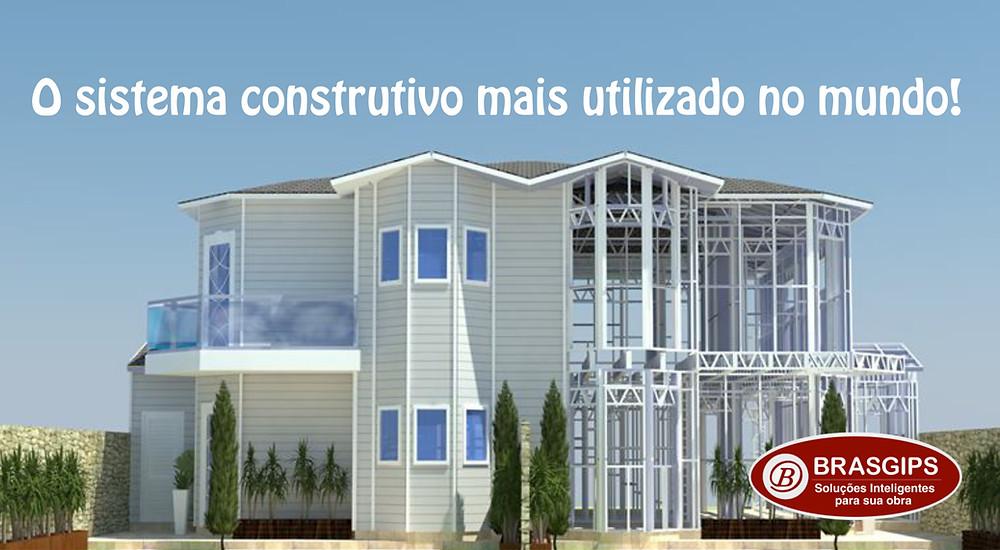Light Steel Frame Brasgips Curitiba - Porque construir em light steel frame e não em alvenaria
