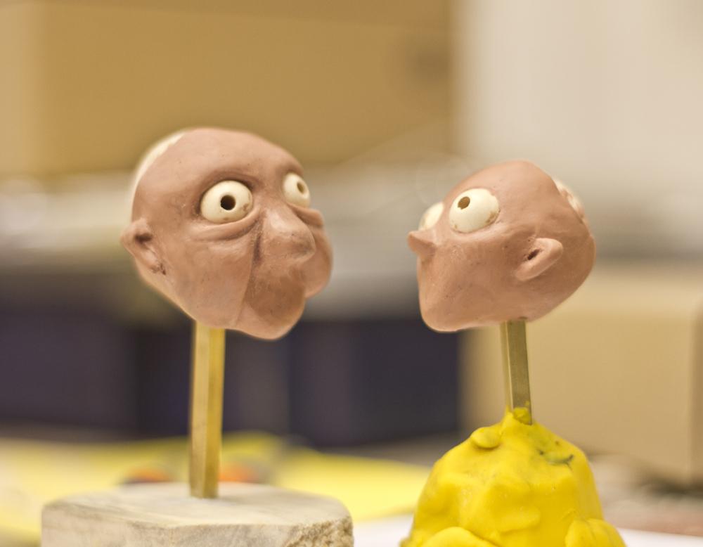 Modelado de las cabezas