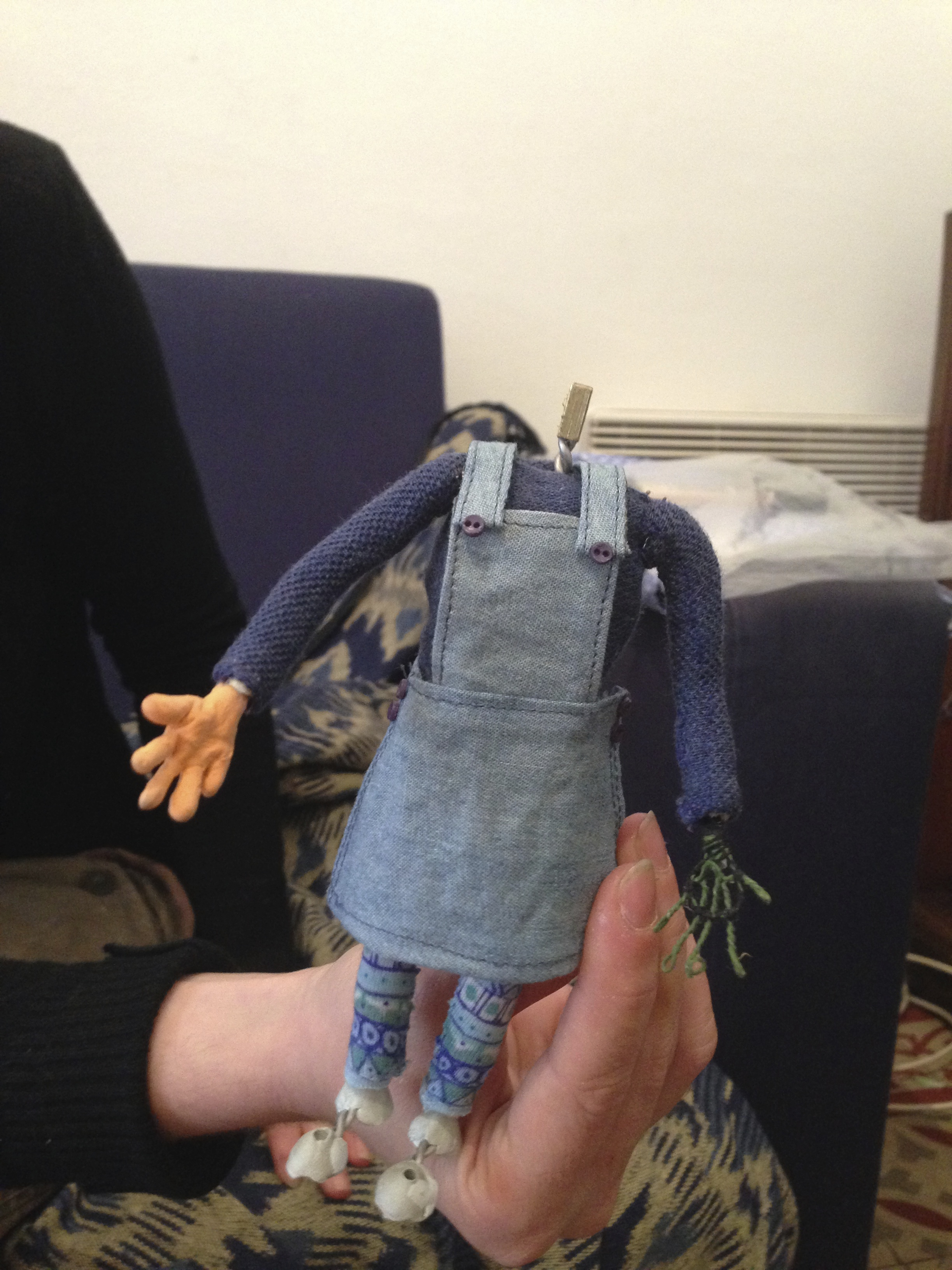 Proceso de la ropa de Violeta