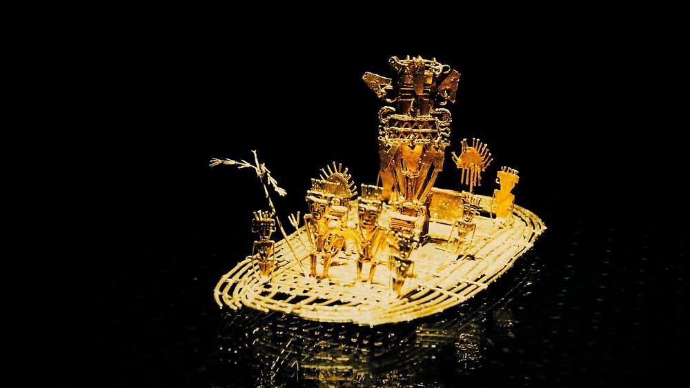Mon Eldorado, que je trouvai au Musée de l'Or de Bogota!