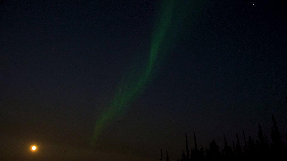Northern Territories aurores boréale