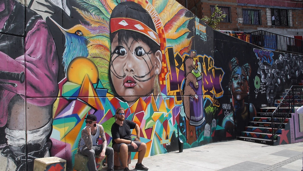 Grafitis de la Comuna 13