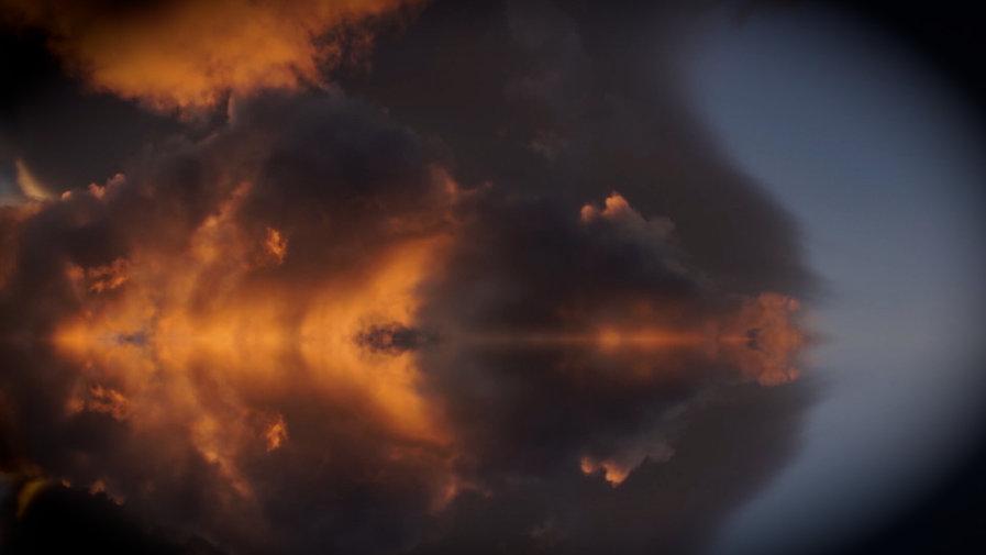 Nuages coucher du soleil YukonPartenariat son et images Films Oiseau de nuit