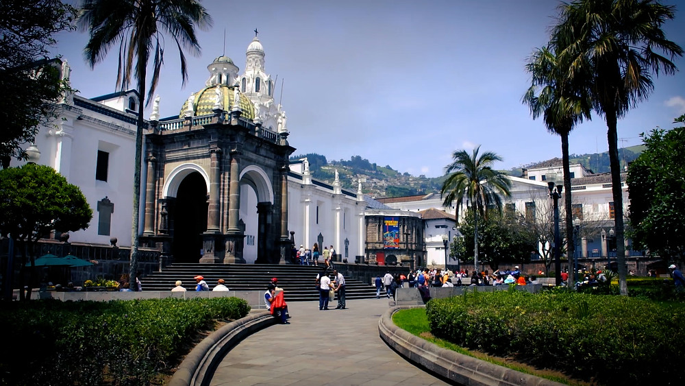 Plaza Grande (Independence Square), Quito, Équateur