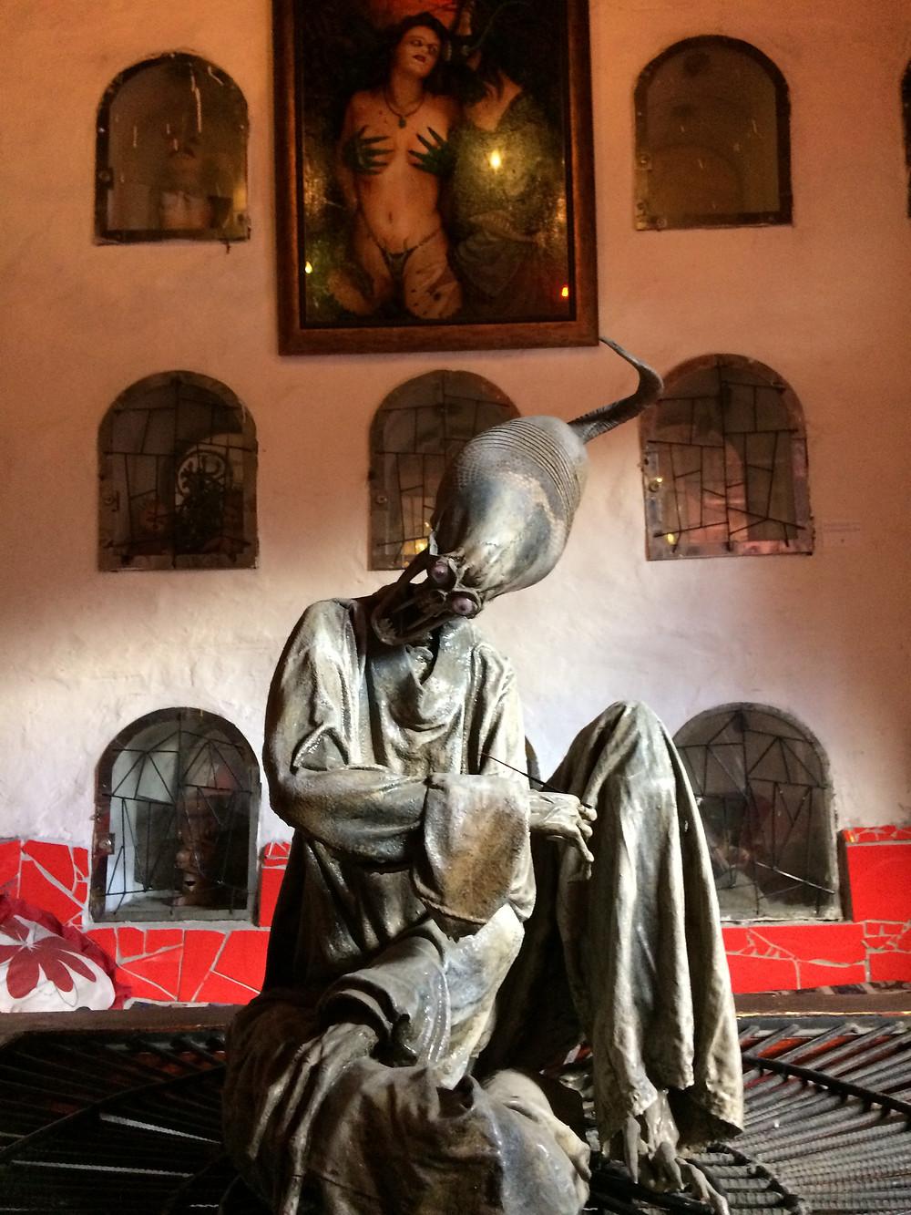 L'alien, Prohibido Centro Cultural, Équateur