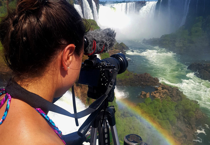 Chutes Iguazu, Argentine et Brésil, Mimi Tremblay, AURORA