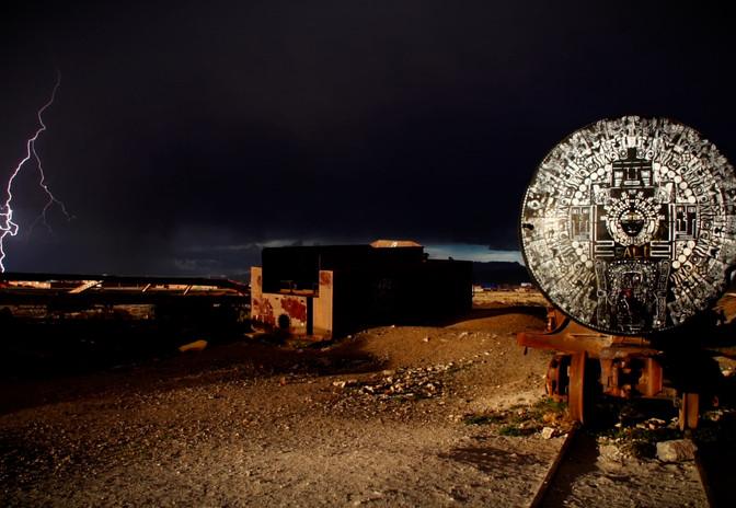Cimetière de Train, Uyuni, Bolivie, AURORA