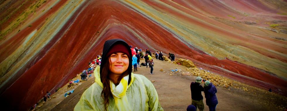 Mimi Tremblay, Rainbow Mountain, Pérou, AURORA