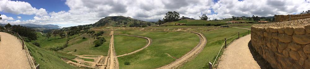 Panorama d'Ingapirca