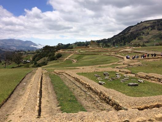 Les ruines d'Ingapirca, Équateur
