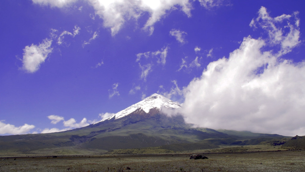 Volcan Cotopaxi (5897m)