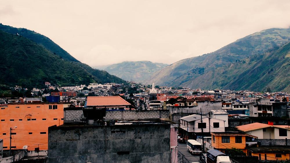 Baños, Équateur, province du Tungurahua