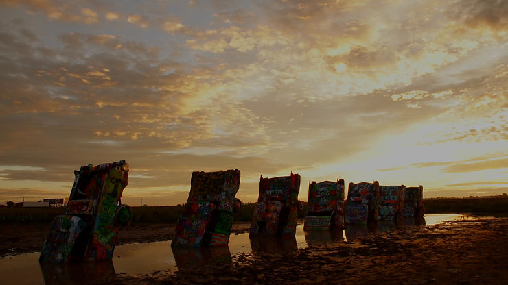 Cadillac Ranch Films de voyage location en ligne États-Unis
