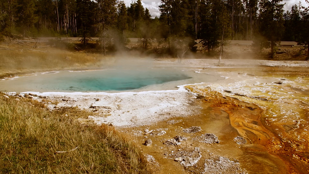Parc National Yellowstone, Wyoming