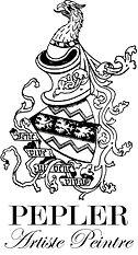 Pepler Griffon Crest Large Artiste Peint