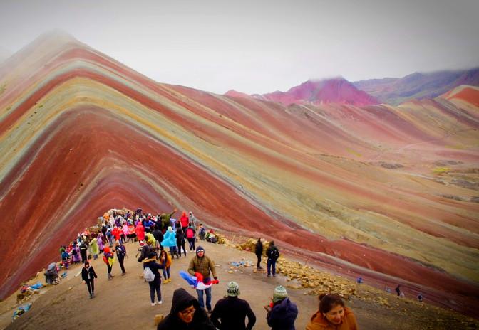 Rainbow Mountain, Pérou, AURORA