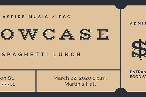 Martin's Hall Showcase Lunch / ALL STUDENTS