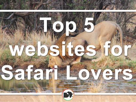 FIVE Websites for African Safari Lovers