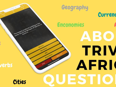 About Trivia Africa Questions