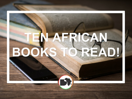 10 African books to read!