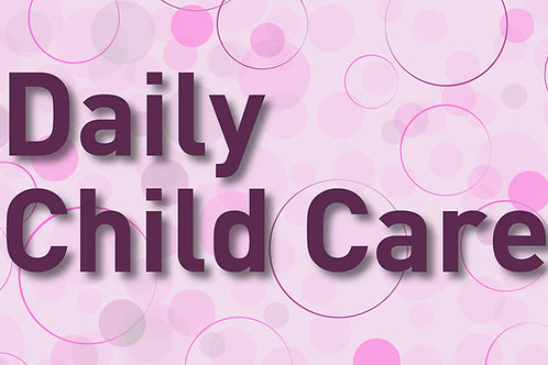Daily Child Care for each additional child