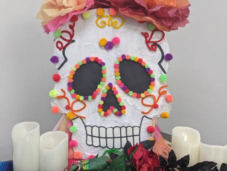 DIY Sugar Skull Piñata inspired by Dia de los muertos