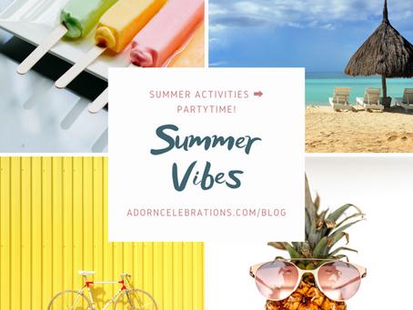 5 Summer Inspired Soirees: Food, Décor & Activity Ideas