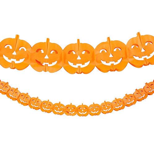 Pumpkin Tissue Garland