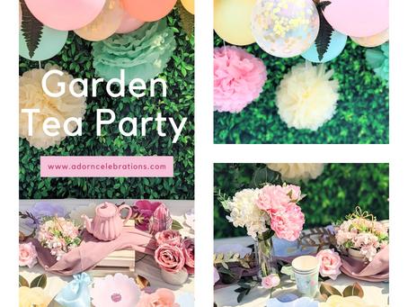 The Cutest Garden Tea Party