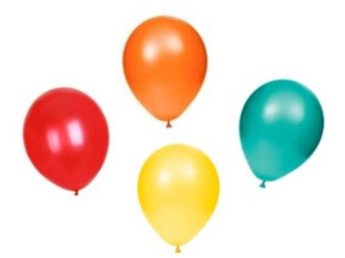 20 Fiesta Balloons