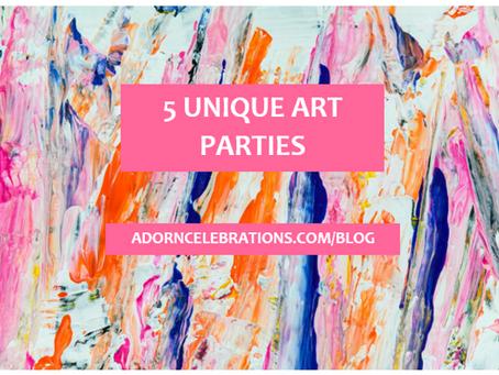 5 Unique Art Parties