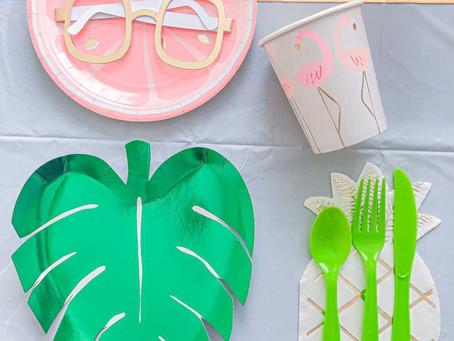 Tropical Soiree: Decor, Food & Activities