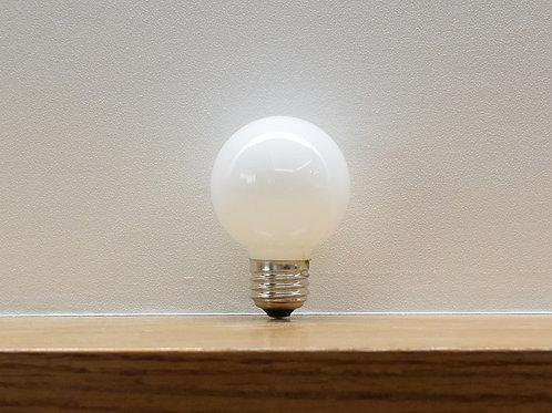 白熱ランプ G60 40W ボールランプ/ホワイト