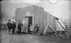 Temporary Tremont Hotel 1886