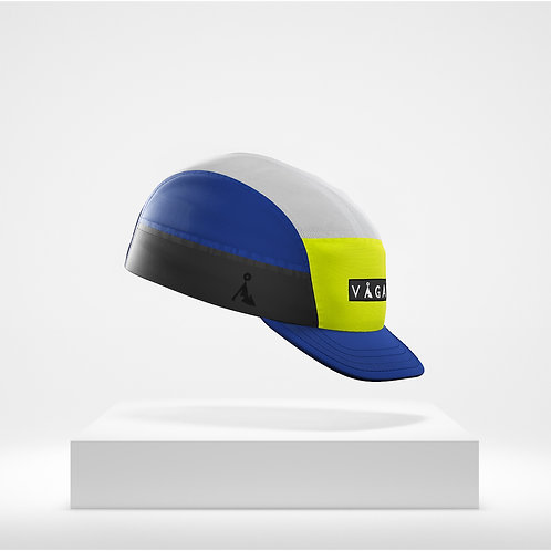 Racing Blue, Ice Grey, Black, Neon Yellow