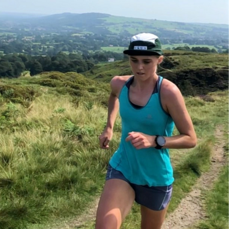 Emma Clayton - elite mountain runner.