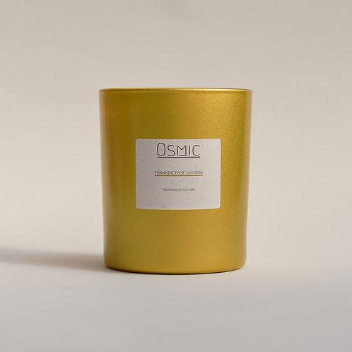 Frankincence & Myrrh - 30cl Soy Wax Christmas Candle