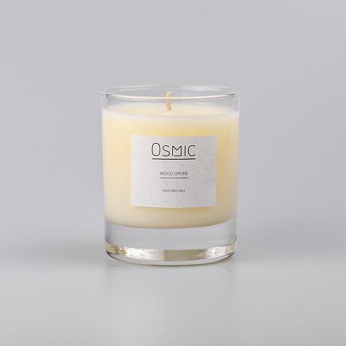 Wood Smoke - 20cl Vegetable Wax Candle