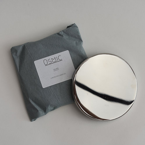 Reusable Silver 20cl Weekend Candle Lid