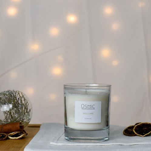 Vanilla & Amber - 30cl Candle