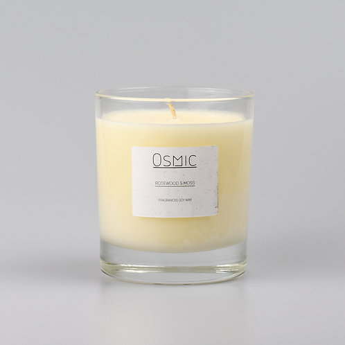Rosewood & Moss - 30cl Candle
