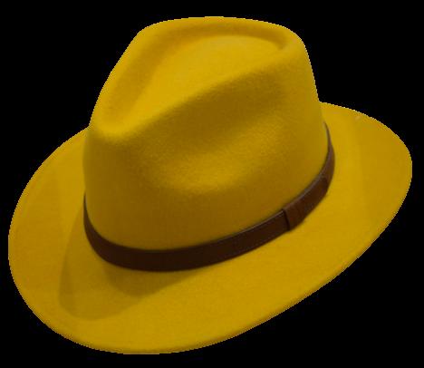 Mustard Fedora