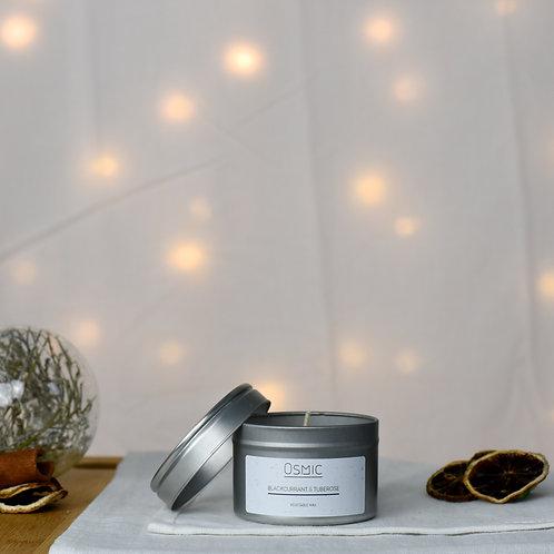Blackcurrant & Tuberose - Tin Candle