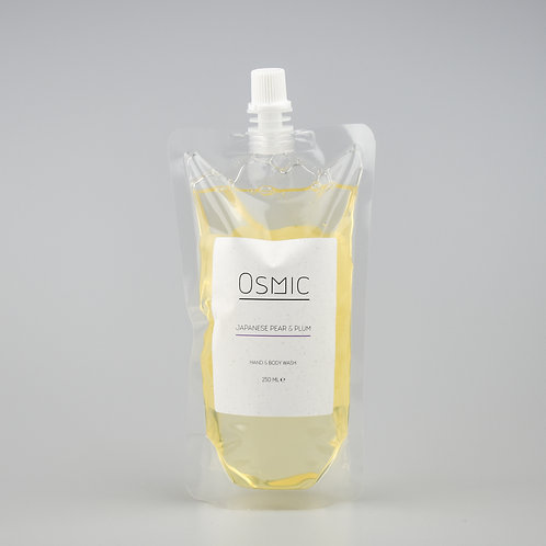 Japanese Pear & Plum - 250ml Soap Recharge