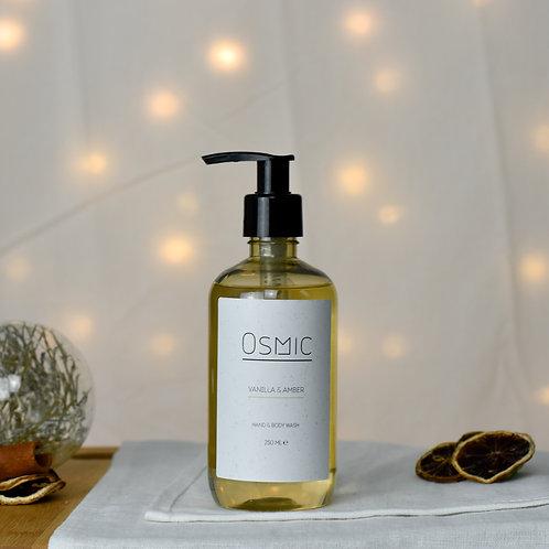 Vanilla & Amber - Hand & Body Wash
