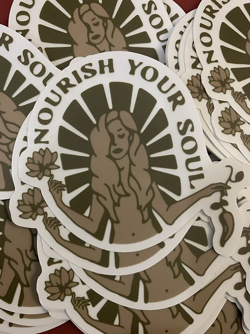 Sticker- Nourish Your Soul
