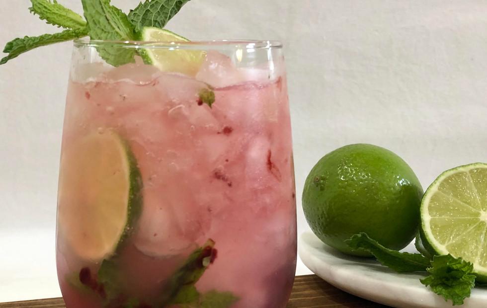 Blackberry Serrano Lime Lemonade