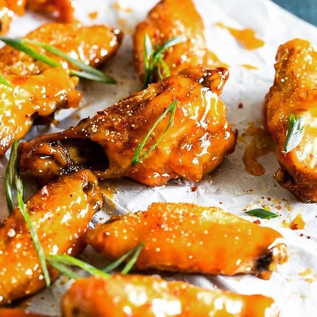 Mango Habanero Wings