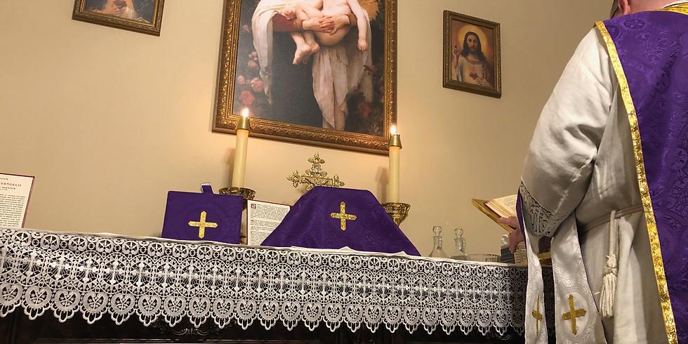 Traditional Catholic Mass Sunday, July 18th